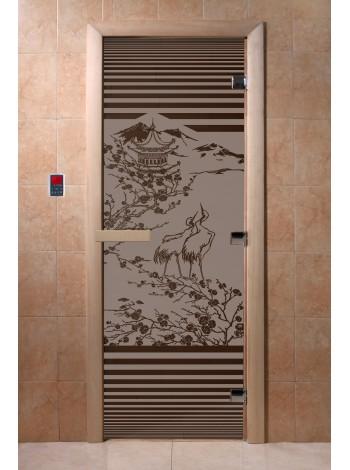 """Дверь """"Япония черный жемчуг матовая"""""""
