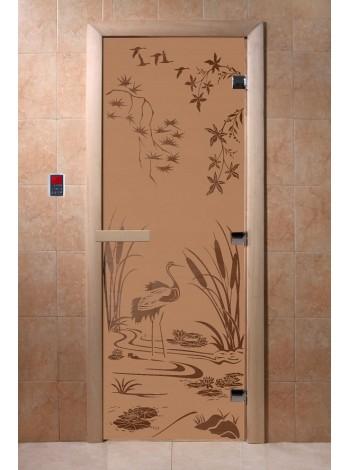 "Дверь ""Камышовый рай бронза матовая"""