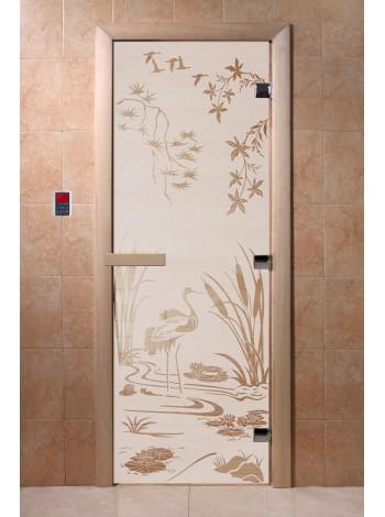 """Дверь """"Камышовый рай сатин"""""""