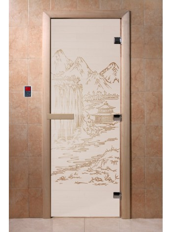"""Дверь """"Китай сатин"""""""