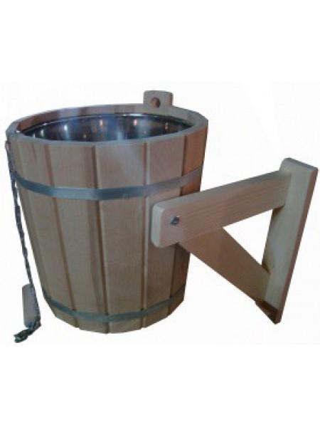 Обливное устройство с нержавеющей вставкой липа 15 литров