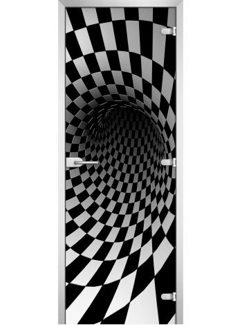 Стеклянное полотно с фотопечатью Abstraction-08