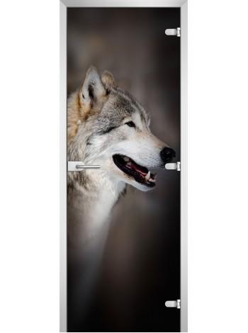 Стеклянное полотно с фотопечатью Animals-12