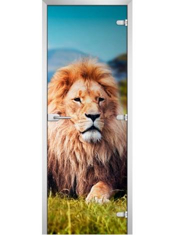 Стеклянное полотно с фотопечатью Animals-15
