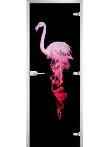 Стеклянная межкомнатная дверь Animals-19