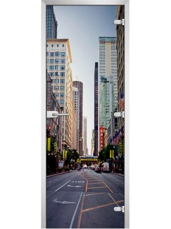 Стеклянное полотно с фотопечатью серия City-07