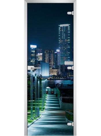 Стеклянное полотно с фотопечатью серия City-10