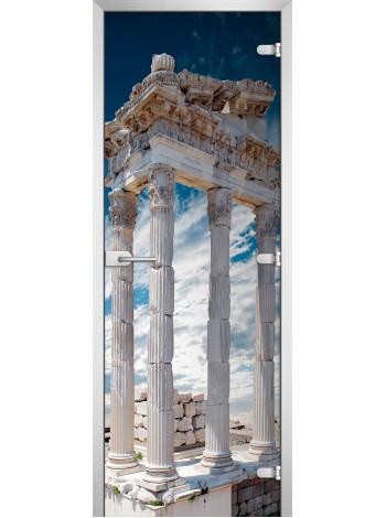 Стеклянная межкомнатная дверь серия City-14