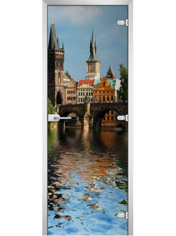 Стеклянное полотно с фотопечатью серия City-20