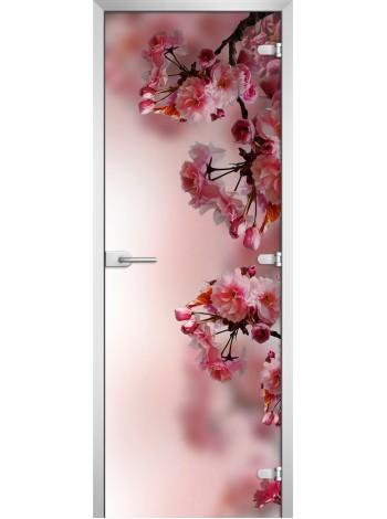 Стеклянное полотно с фотопечатью Flowers-16