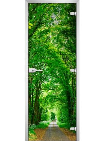 Стеклянное полотно с фотопечатью Forest-05
