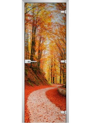 Стеклянное полотно с фотопечатью Forest-16