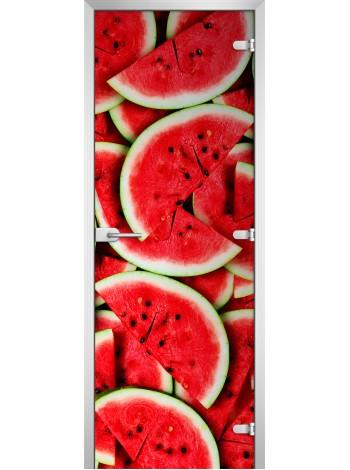 Стеклянная межкомнатная дверь Fruite-01