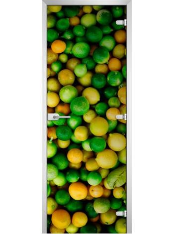 Стеклянная межкомнатная дверь Fruite-06