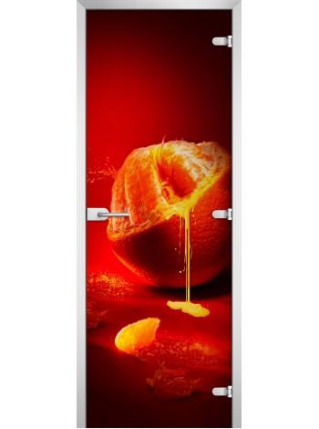 Стеклянная межкомнатная дверь Fruite-08