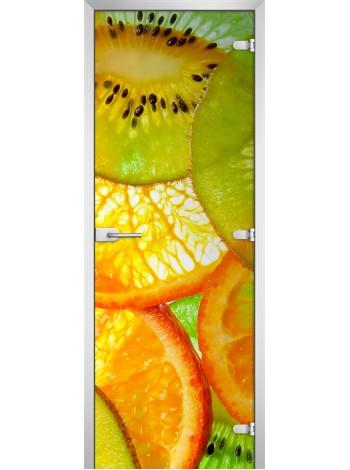 Стеклянная межкомнатная дверь Fruite-09