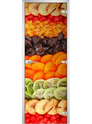 Стеклянная межкомнатная дверь Fruite-11