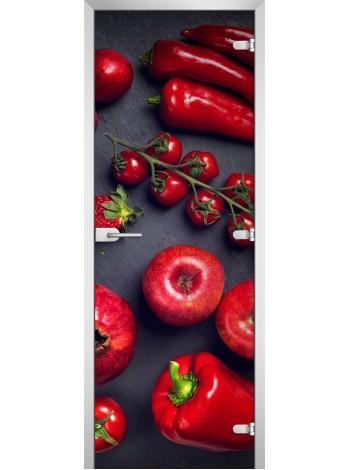 Стеклянная межкомнатная дверь Fruite-13