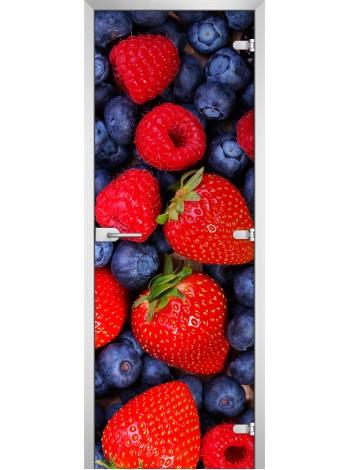 Стеклянная межкомнатная дверь Fruite-14