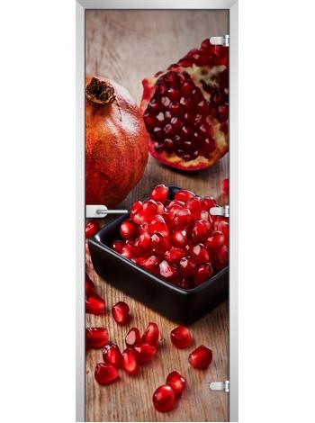 Стеклянное полотно с фотопечатью Fruite-16