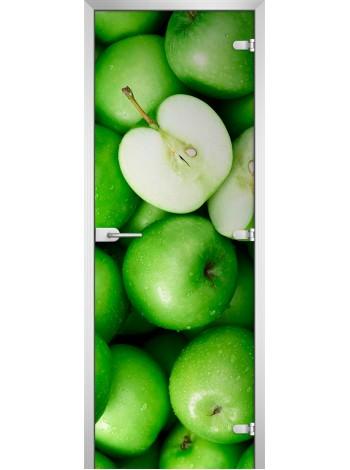 Стеклянная межкомнатная дверь Fruite-17