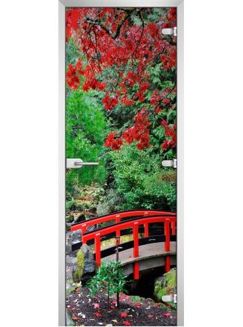 Стеклянное полотно с фотопечатью Nature-02