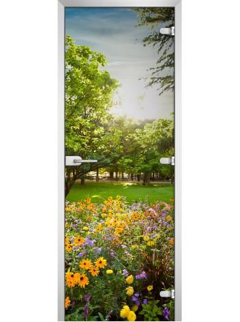 Стеклянное полотно с фотопечатью Nature-04