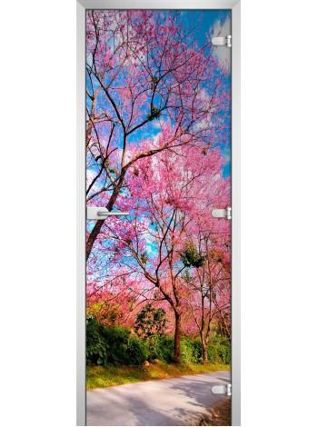 Стеклянное полотно с фотопечатью Nature-12