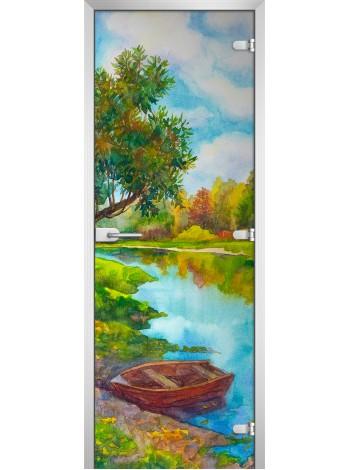 Стеклянное полотно с фотопечатью Painting-03