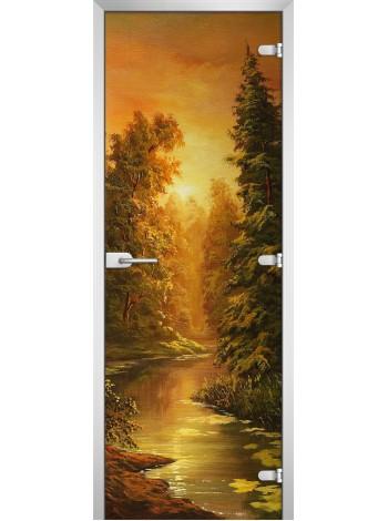 Стеклянное полотно с фотопечатью Painting-10