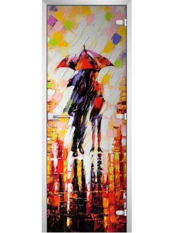 Стеклянное полотно с фотопечатью Painting-14