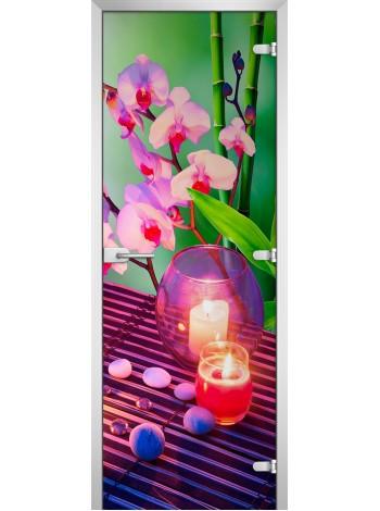 Стеклянное полотно с фотопечатью Spa-06
