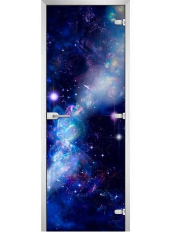 Стеклянная межкомнатная дверь Space-02