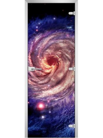 Стеклянная межкомнатная дверь Space-04