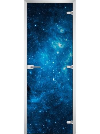 Стеклянная межкомнатная дверь Space-05