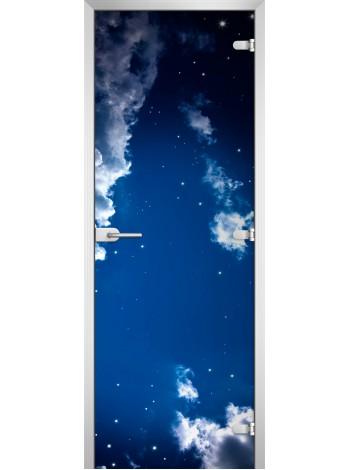 Стеклянная межкомнатная дверь Space-06