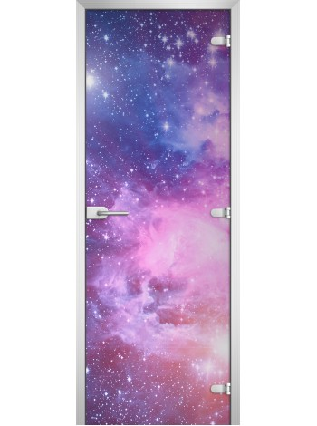 Стеклянная межкомнатная дверь Space-07