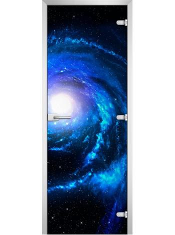 Стеклянная межкомнатная дверь Space-10