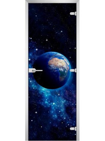 Стеклянное полотно с фотопечатью Space-11