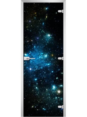 Стеклянная межкомнатная дверь Space-12
