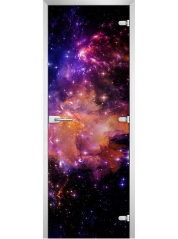 Стеклянное полотно с фотопечатью Space-13