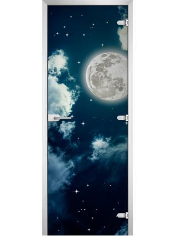 Стеклянное полотно с фотопечатью Space-14