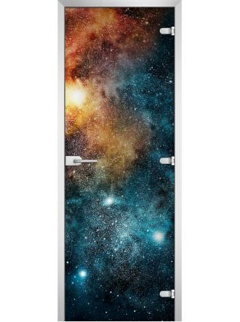 Стеклянная межкомнатная дверь Space-15
