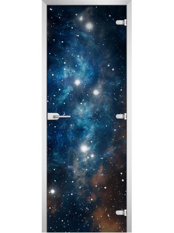 Стеклянная межкомнатная дверь Space-19