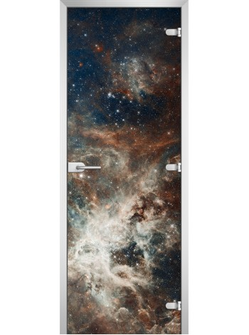 Стеклянная межкомнатная дверь Space-20