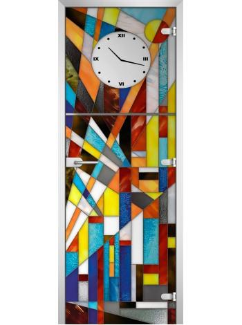 Стеклянное полотно с фотопечатью Stained Glass-05