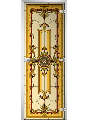 Стеклянное полотно с фотопечатью Stained Glass-12