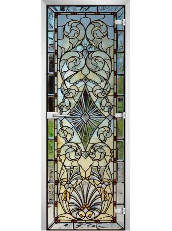 Стеклянная межкомнатная дверь Stained Glass-16
