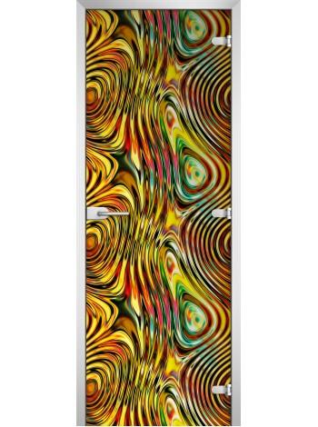 Стеклянное полотно с фотопечатью Textures-09