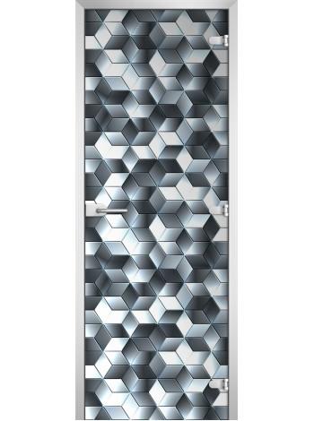 Стеклянное полотно с фотопечатью Textures-11